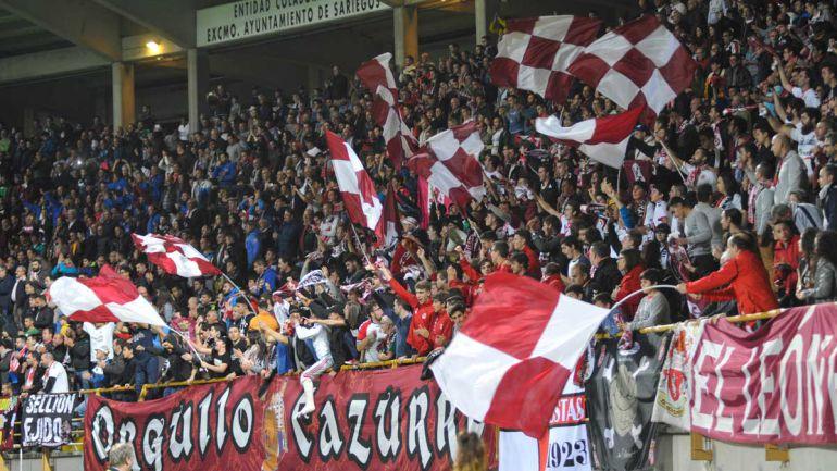 La afición leonesa deberá pagar 20 euros para presenciar el partido en Palencia