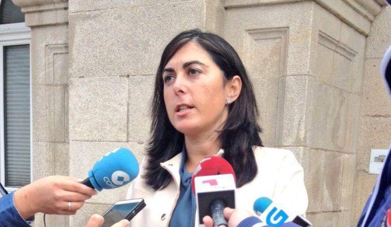 Elena Candia, portavoz del Grupo Provincial del PP en la Diputación de Lugo