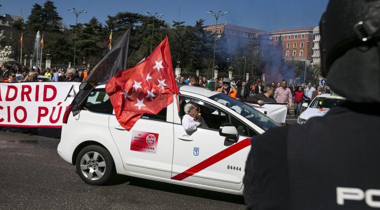 Cabify denuncia agresiones de taxistas a sus empleados