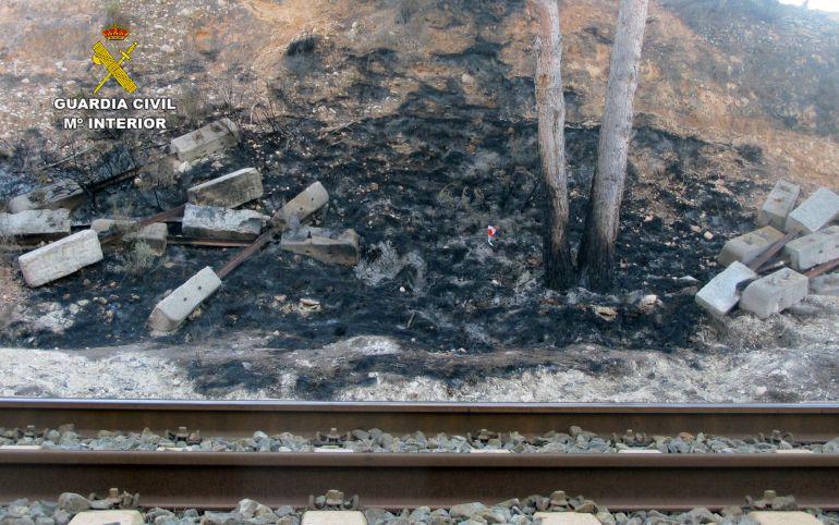 Esclarecen la causa de los incendios que calcinaron 4 hc de masa forestal en Calasparra