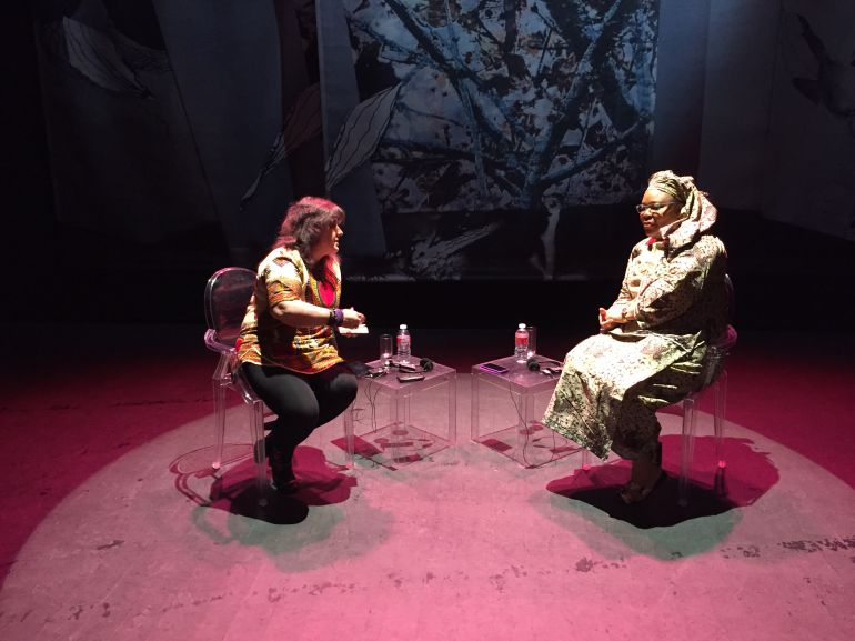 La Premio Nobel de la Paz en el Encuentro de Mujeres que transforman el Mundo