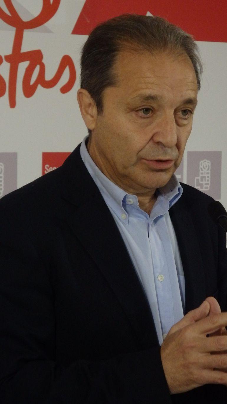 Juan Luis Gordo, secretario provincial del PSOE