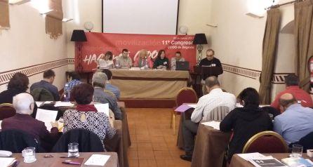 Congreso de CCOO en el hotel San Antonio el Real
