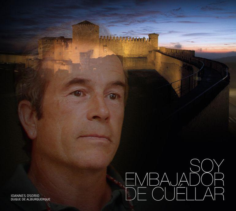 El actual Duque de Alburquerque Ioanes Osorio protagoniza la primera volatina como embajador de Cuéllar