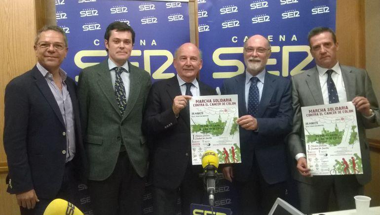 Salomón Hachuel, Pablo Martínez-Alcalá, Julio Cuesta, Felipe Martínez-Alcalá y José María Cruz