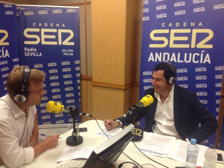 """Moreno: """"El PP andaluz será neutral en los congresos provinciales"""""""