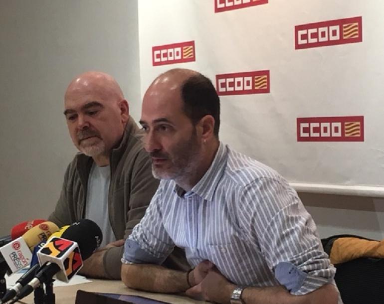 FranciscoJosé Gonzalez, Secretario General del Sector Autonómico de CCOO
