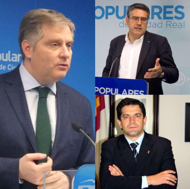 """Cañizares, Rodríguez y Valverde, """"posibles"""" candidatos a dirigir el PP de Ciudad Real"""