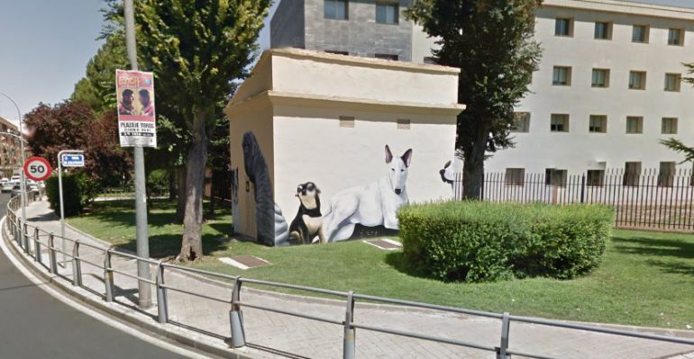 Grafitis para embellecer las casetas eléctricas