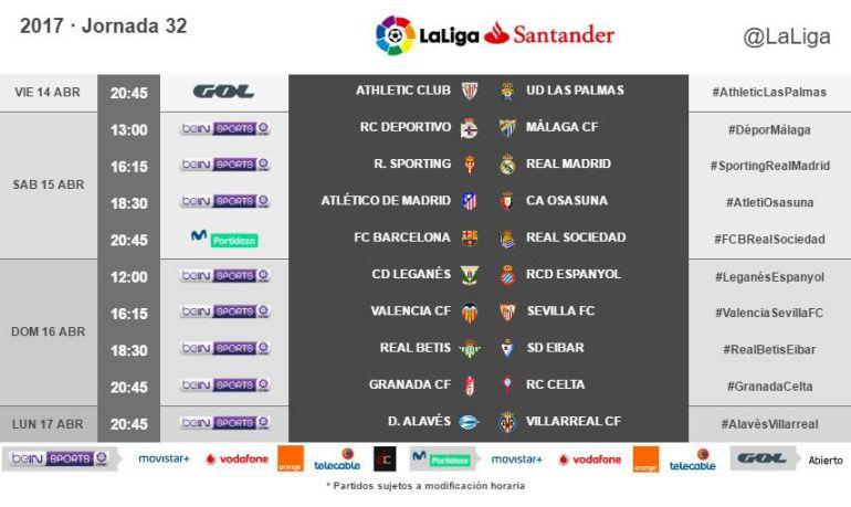 El Málaga visitará al Deportivo y recibirá al Valencia en sábado