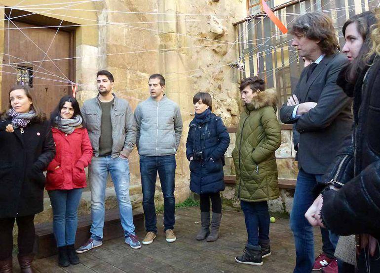 Jóvenes de 'Transforming', Escuela de Artes y Universidad se reúnen para diseñar su Soria