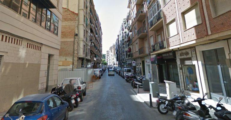 Una de las calles afectadas este martes es Teodoro Camino