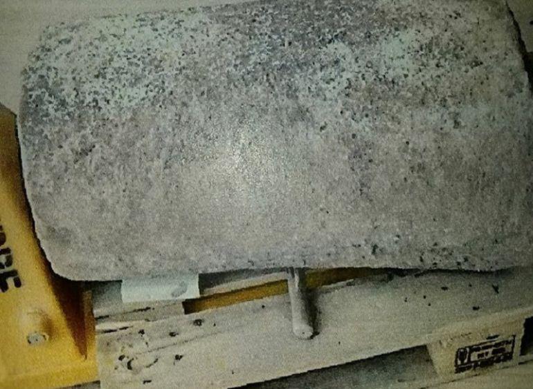 Piedra de moler encontrada en Crevillent