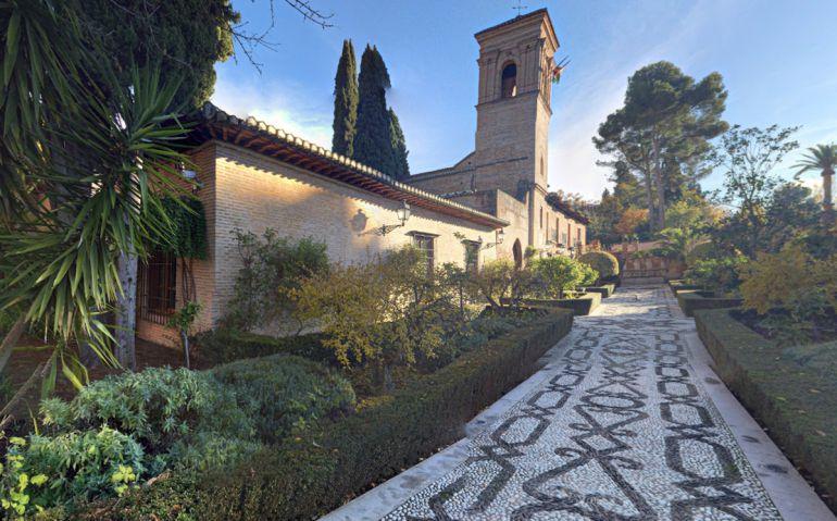 Antiguo convento de san Francisco de la Alhambra, actual Parador Nacional