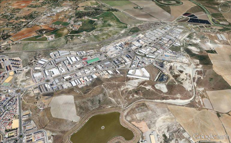 Imagen del polígono industrial de El Portal