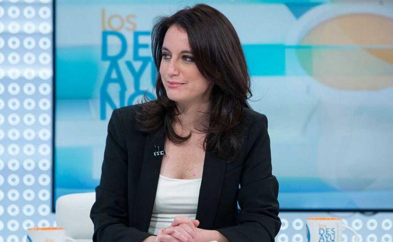 Andrea Levy en Los Desayunos de TVE