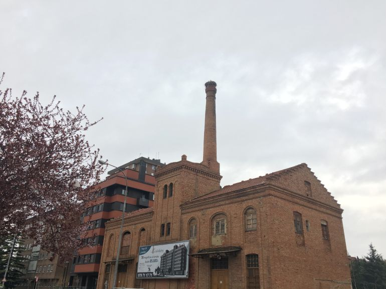 Edificio de la Antigua Alcoholera en Pan y Guindas (Palencia