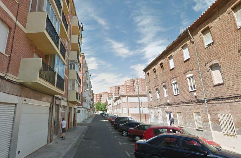 Calle Anastasia Santamaría donde se ubica la vivienda