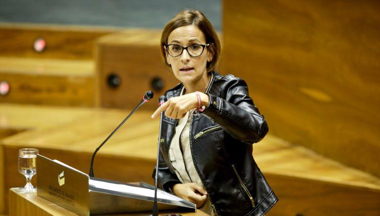 María Chivite, secreteria general del PSN
