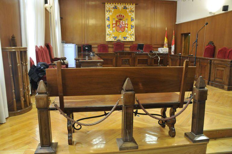 Imagen de la sala de la Audiencia Provincial de Segovia donde se ha celebrado el juicio por presuntos abusos sexuales