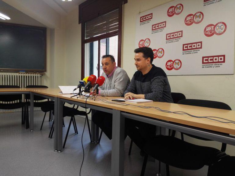 CCOO y UGT Segovia convocan movilizaciones en los centros de trabajo