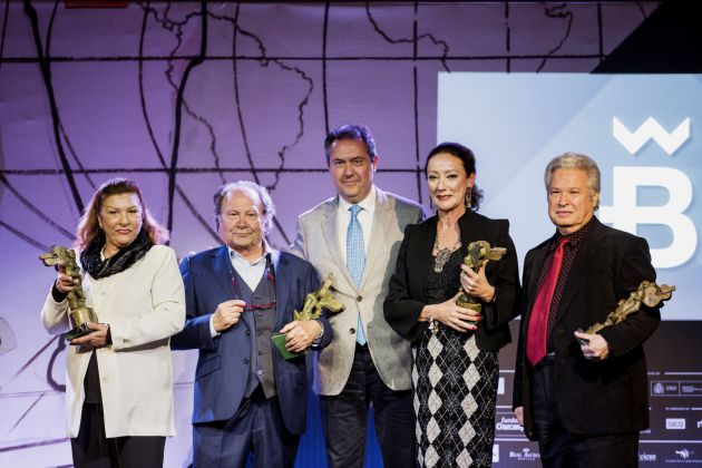 Giraldillos de la Bienal de Flamenco: La Bienal entrega sus Giraldillos