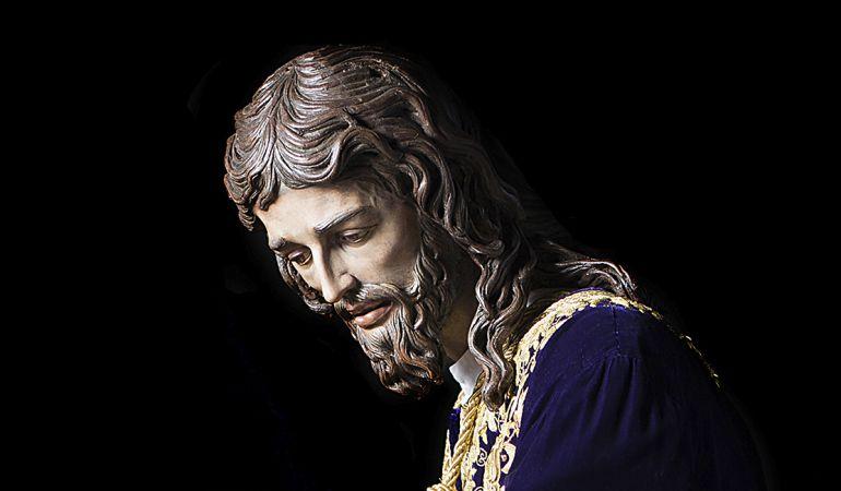 Cartel del vía crucis extraordinario con el Señor del Soberano Poder de San Gonzalo