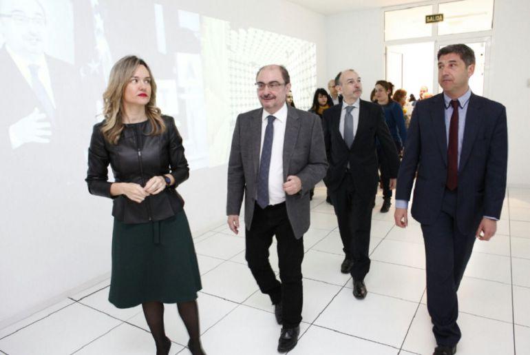 El presidente Lambán ha hecho estas declaraciones durante una visita al Instituto Tecnológico de Aragón