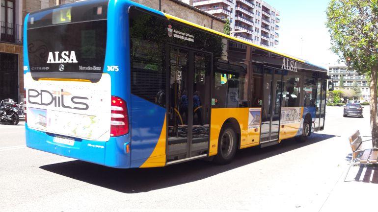 Autobús urbano de Guadalajara