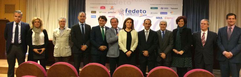 Presentación de los actos del 40 aniversario de Fedeto en Toledo
