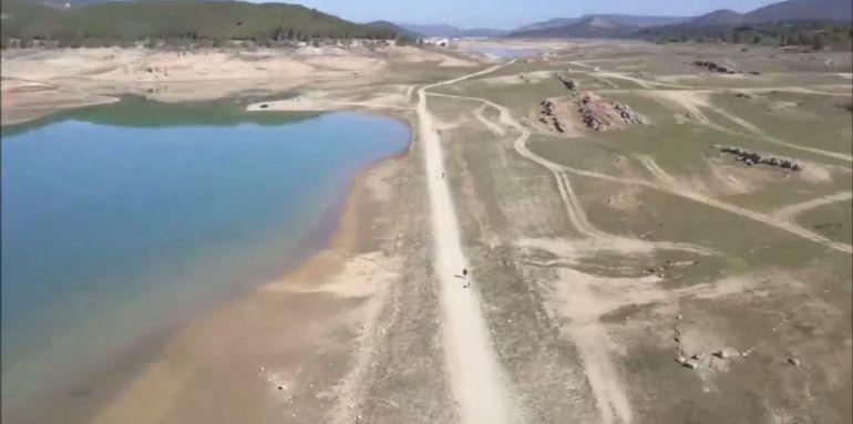 Caputura de imagen de un momento del vídeo publicado por la plataforma 'Rio Tajo Vivo'