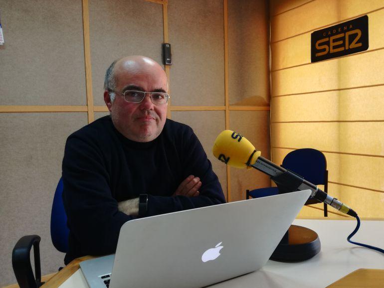 El investigador Jesús de la Rosa en la entrevista de Hoy por Hoy Huelva en la Cadena SER