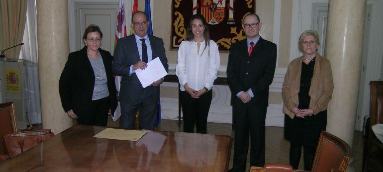 La entrega de premios ha tenido lugar en la Subdelegación del Gobierno de Palencia