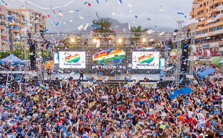 ¡Hard Rock Cafe Tenerife celebra su 3er aniversario por todo lo alto!: LOS40 finalizan la gira de Carnavales este fin de semana en Arona