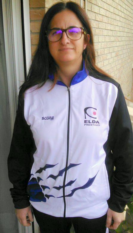 Cristina Carbonell, entrenadora de las veteranas