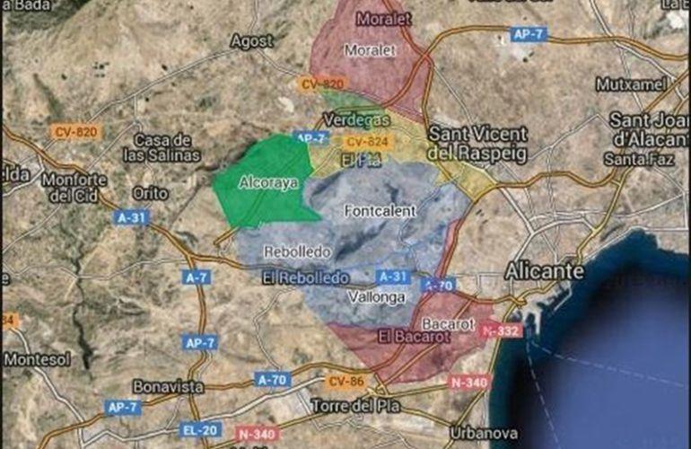 Alicante urbanismo prev un cintur n industrial de siete - Alicante urbanismo ...