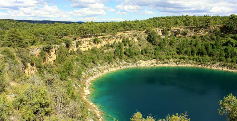 En todo el complejo de Cañada del Hoyo hay hasta siete lagunas.