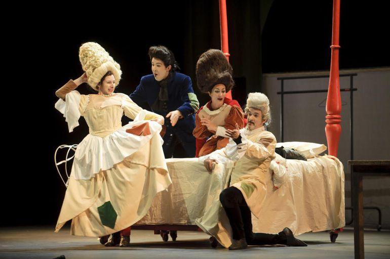 Los niños se convierten en los protagonistas del Teatro de la Maestranza