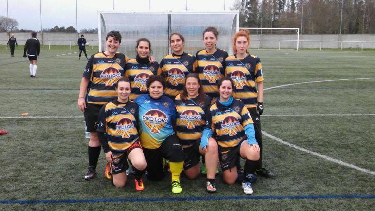O equipo feminino do Auriense,trouxo a victoria de terras coruñesas.