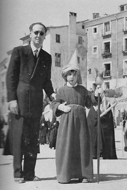 Federico Muelas y su hijo Mario.