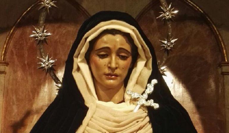 La Virgen de las Tristezas será la imagen del cupón de la ONCE que se juegue el próximo Domingo de Resurrección, 16 de abril