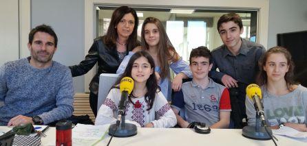 Profesores y alumnos del Colegio Trueba Bilbao