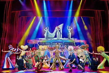 'Priscilla, el musical' ya está en Murcia
