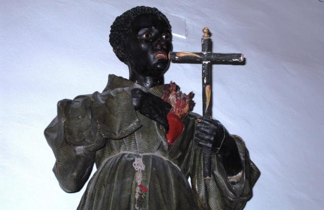 San Benedicto de Palermo (José de Mora, s. XVII), que se conserva en el Convento de la Encarnación, fue titular de la Hermandad de los Negros