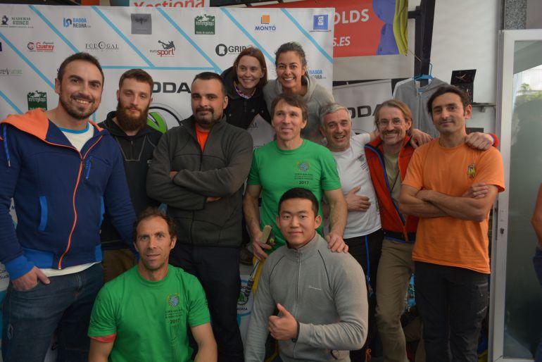 Ourense, albregó el Campeonato Gallego de Escalada Indoor, donde los representantes ourensanos conseguían las primera plazas