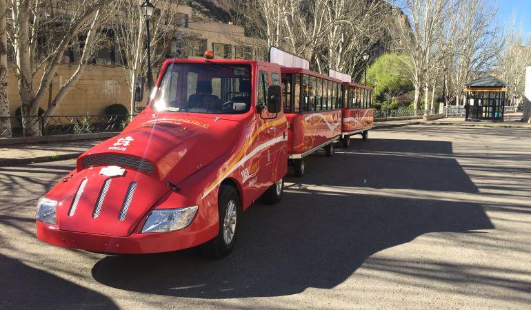 El tren turístico de Cuenca comenzará a funcionar después de Semana Santa