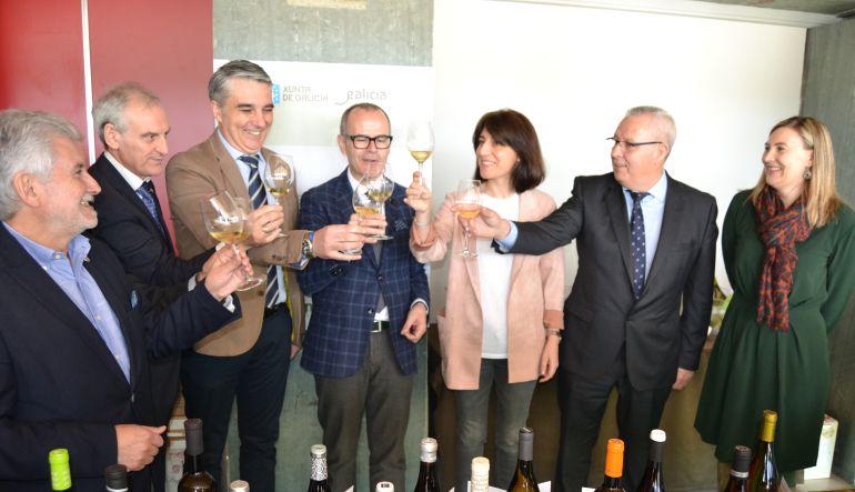 Imagen de la inauguración del VII Salón del Vino y Licores Gallegos de Calidad, Vinis Terrae