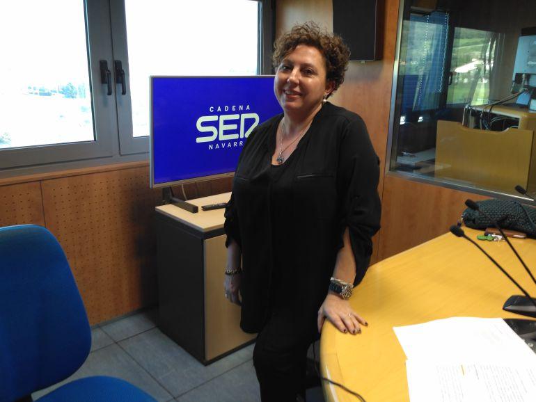 Elena Arçostegui, propietaria del negocio Iruñazarra.