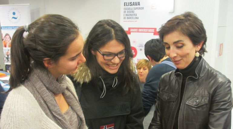 Participantes en la edición de la feria Unitour celebrada en Valladolid