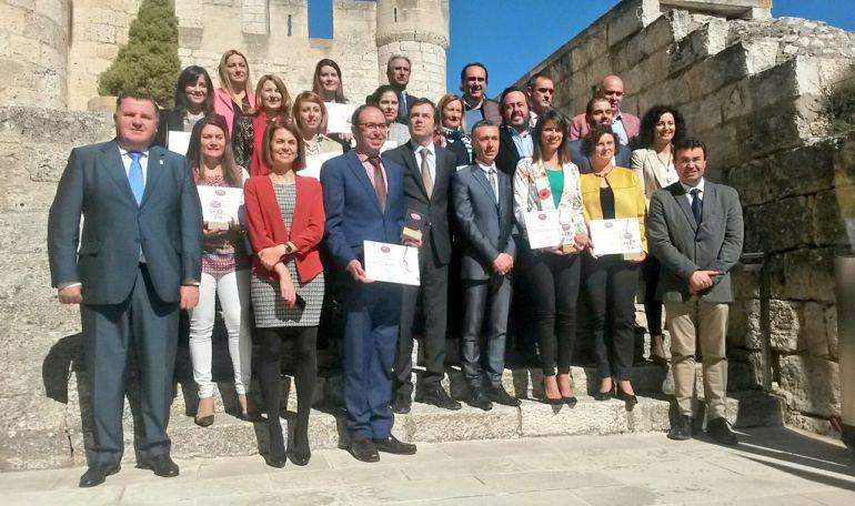 Las bodegas más visitadas de la Ruta del Vino Ribera del Duero recogen sus diplomas.